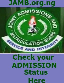 JAMB.org.ng 2015/2016 Admission Status Checker