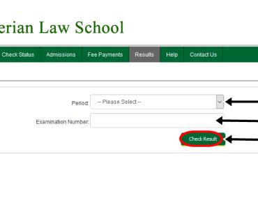 Nigerian Law School 2015 Bar II Results Checking