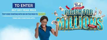 Peak 2015 Milk Million Promo image