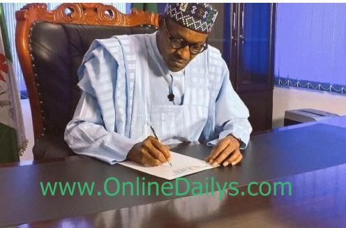 President Buhari New Appointment List