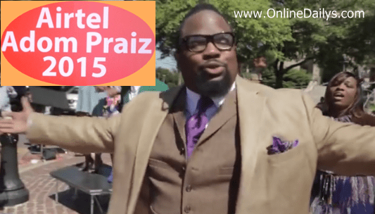 Hezekiah Walker to feature in the Airtel Adom Praiz 2015