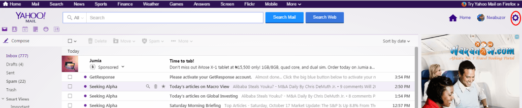 how  to manage other mail account in Yahoo Mail 02
