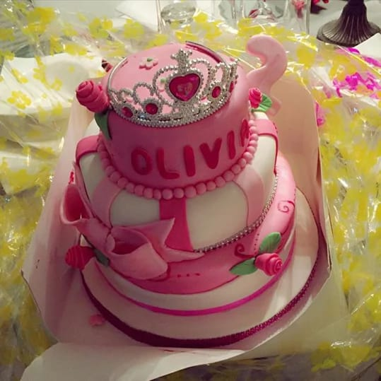 2face Celebrates daughter's Birthday 3