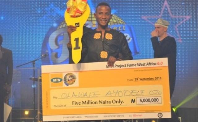 MTN Project Fame West Africa 2013 Winner - Olawale