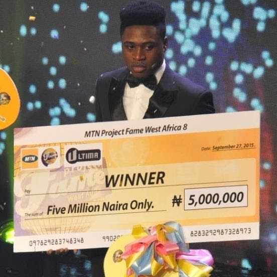 MTN Project Fame West Africa 2015 - Jeffery Akor