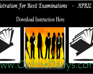 Nigerian Law School 2016 Resit Exam Registration