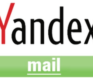 Yandex mail Sign up page