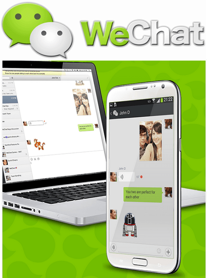 WeChat Sign Up for desktop - Banner