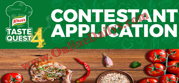 2016 Knorr Taste Quest Season 4 Audition