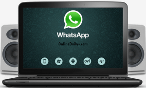 Sample of Download WhatsApp Apk for Windows PC