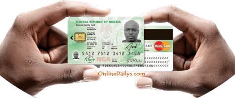 New Original National eID Card