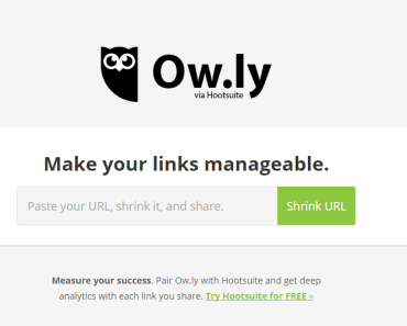 ow.ly link shortener