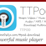 Download TTPod APK music player for Android, iPhone, BlackBerry, Nokia, Java