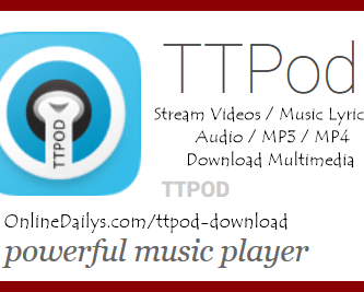 Download TTPod APK music player