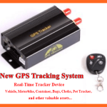 GPS Web Tracking System for Car, Vehicle Bags and more