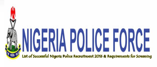 List of Successful Nigeria Police Recruitment 2016