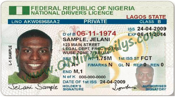 www.frsc.gov.ng Drivers Licence Renewal Or New Application