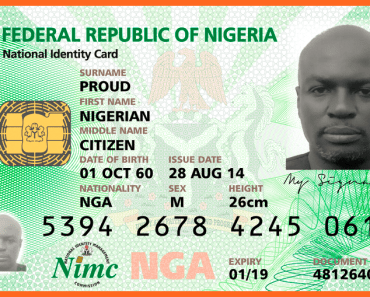 Nigeria National Identity Card