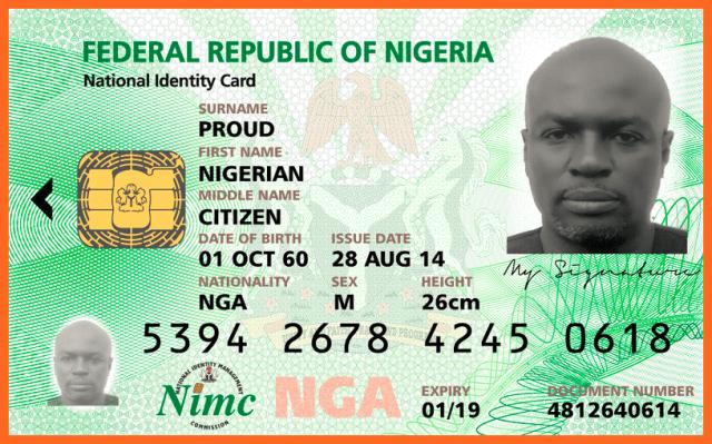 Nigeria National Identity Card