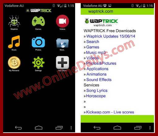 Waptrick App APK for Mobile Free Download | www waptrick com