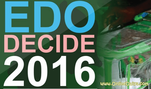 Edo State Election Results 2016