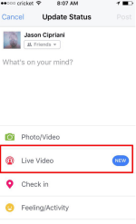 How to do Facebook Live Video Streaming
