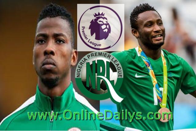 Nigeria Highest Paid Footballer Premier League