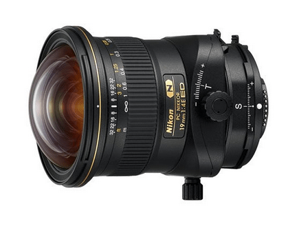 new PC NIKKOR 19mm