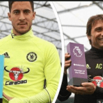 EPL Player And Manager Of The Month | Hazard, Conte Win