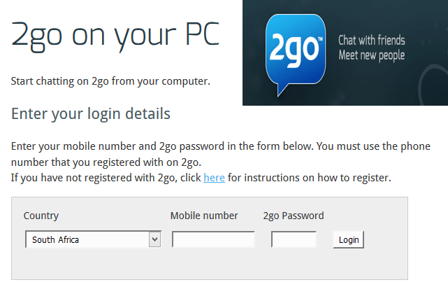 logo - Log In 2go Account For PC