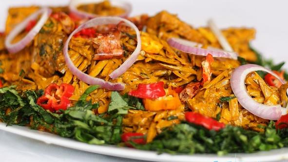 Prepare Delicious Abacha (African Salad)