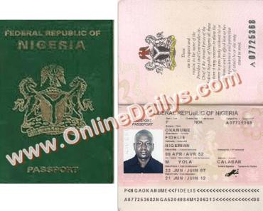 Apply for Nigeria International Passport
