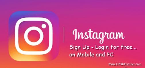 Instagram Account Registration