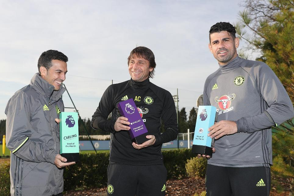 EPL November Player, Manager, Goal Of The Month Awards