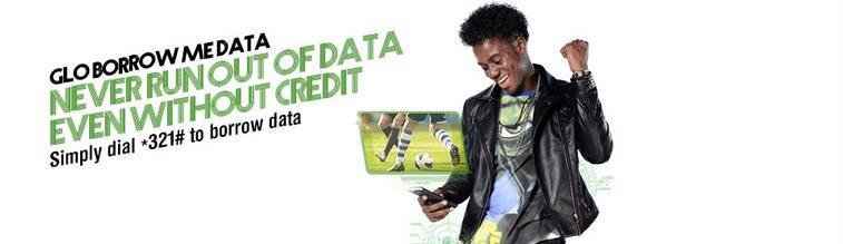Glo Borrow Me Data
