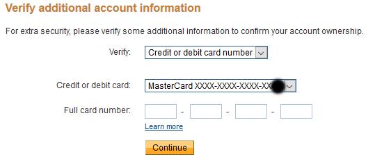 Image: credit card