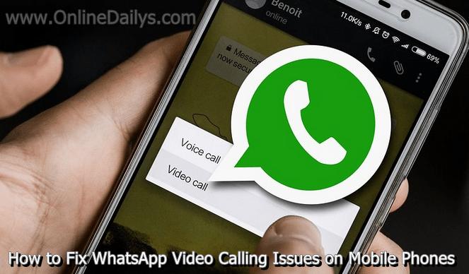 LOGO: Fix WhatsApp Video Calling Issues