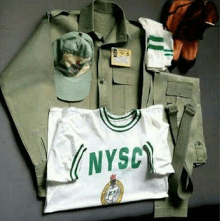 NYSC Kit to be given at the camp
