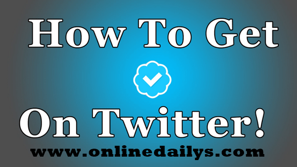 How To Obtain A Verified Twitter Account 1
