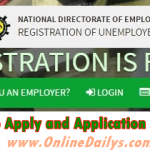 www.jobsforall.ng – Requirements For FG Online Job Registration Recruitment Program