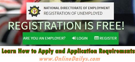 Logo: FG Online Job Registration