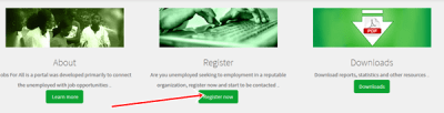 National Directorate Of Employment (NDE) Online Registration Of Unemployed Nigerians | www.jobsforall.ng 1
