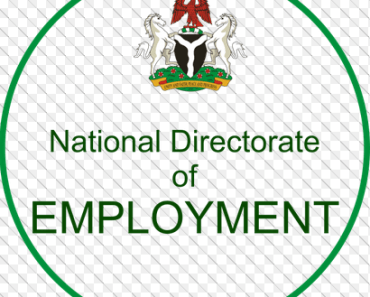 Online Registration Of Unemployed Nigerians