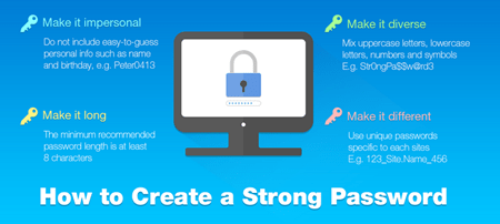 Top 4 Ways To Create Strong And Easily Remembered Passwords