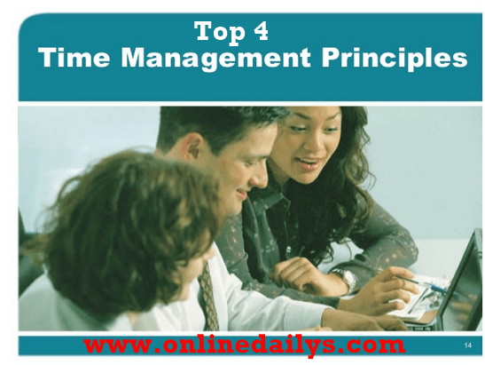 Top 4 Principles Of Time Management
