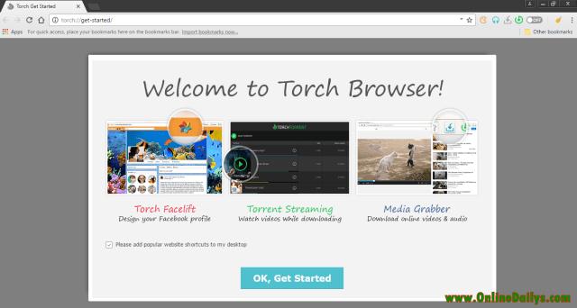 Logo: Torch Browser for desktop
