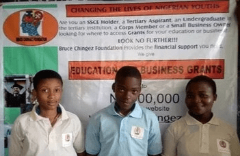 Bruce Chingez Foundation Education & Business Grant