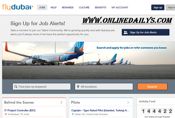 Apply For FlyDubai Airways Job Vacancies