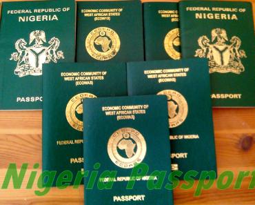 Image of Nigeria International Passport