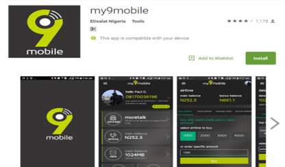 9mobile Website, Logo & Mobile App Download Guide | Etisalat Changes To 9mobile 1